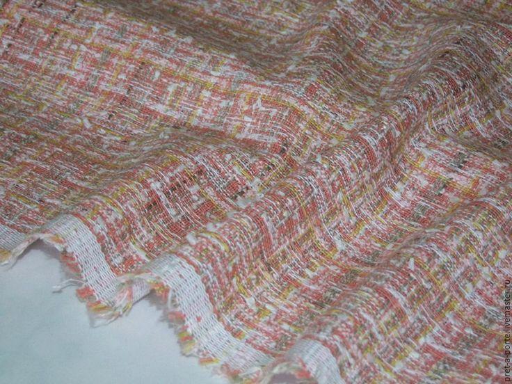 Купить -20% TIFFANI оригинал твид букле, Франция - итальянские ткани, Итальянская шерсть