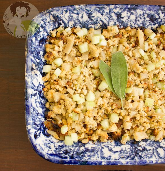 A Girl Worth Saving's Paleo Thanksgiving Stuffing