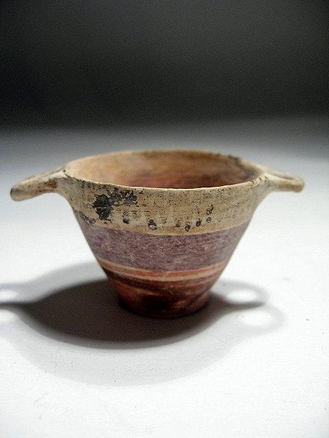 Greek Terracotta Jar Miniature, 800-500 BC. (just like johannes peters!)