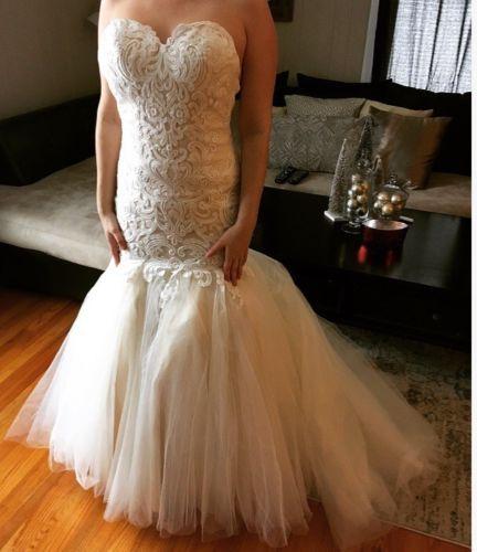 Sottero Midgley Couture Cassandra Wedding Dress - originally size 10