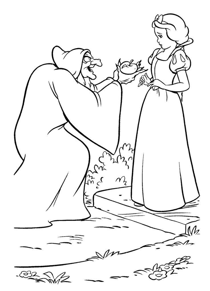 Blancanieves y bruja