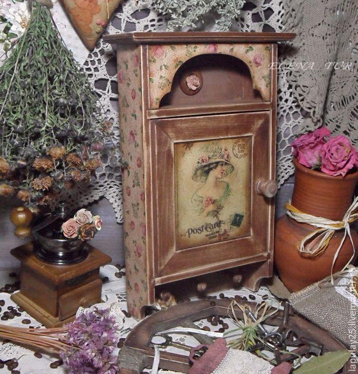 """""""Postcard"""" Ключница – купить в интернет-магазине на Ярмарке Мастеров с доставкой"""