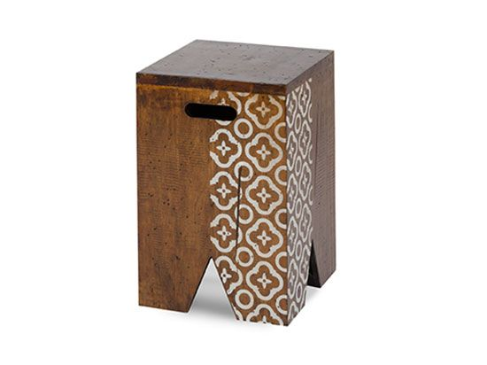 Scandinavian Designs - Accent Tables - Entrol Stool - Wh