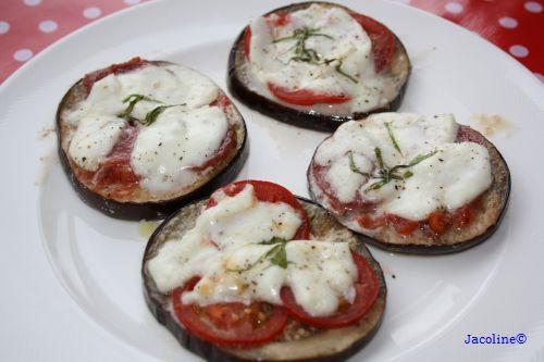 Gezond leven van Jacoline: Aubergine pizza
