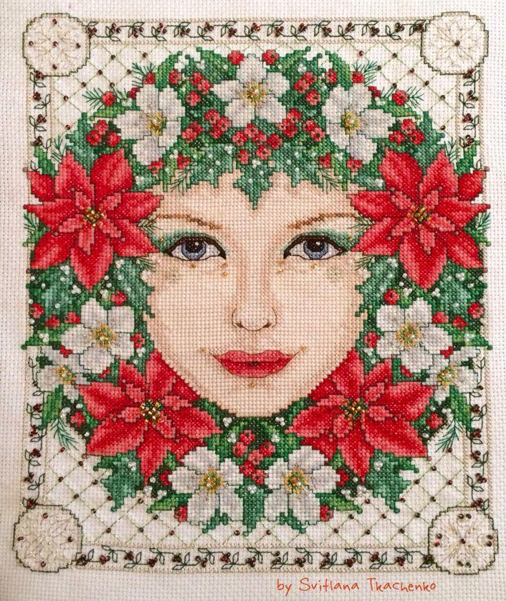 Joan Elliot. Winter Goddess