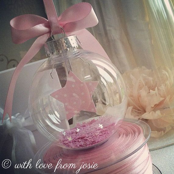 Star Bauble Personalised by WithlovefromJosie on Etsy
