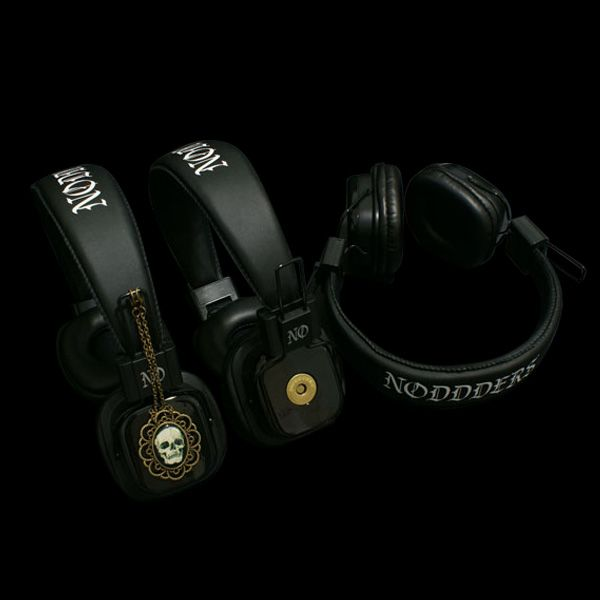 Headphones with attachable pendants-------  http://noddders.com/product/gothic-headphones-pendants/  ------------ #subculture #gothic #noddders #retro #vintage #dark #creepy #monster #vampire #dracula #zombie #devil #evil #skull #blood #horror #goth #punk #blackjewelries #gothstyle #gothicfashion #alternative #underground #collection #collectibles #style #cemetery #graveyard #macabre #headphones