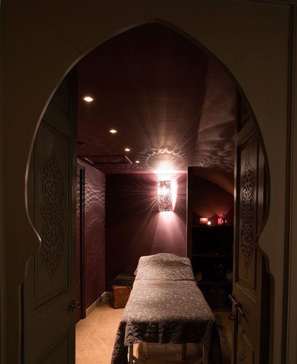 Cabine massage au Bain d'Épices