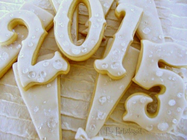 Champagne Cookies Candy To Toast The New Year Party Food RecipesCookie