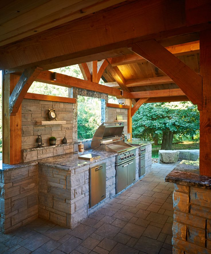Beautiful Rustic Outdoor Fireplace Design Ideas 687: Beautiful Landscapes
