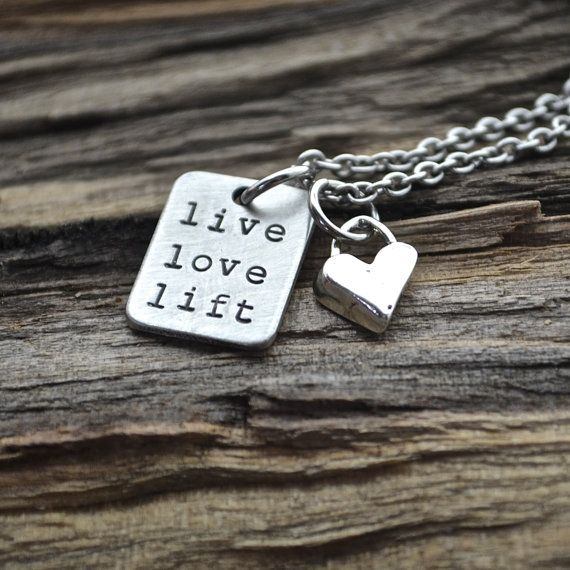 Live Love Lift Necklace