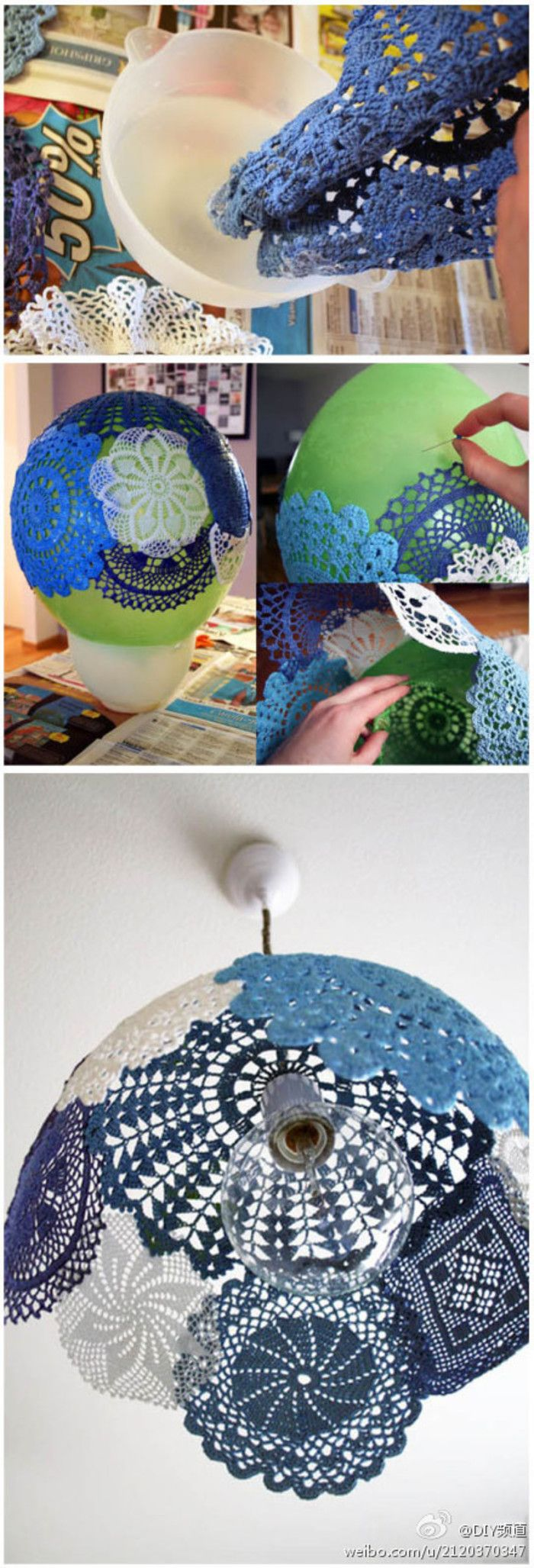 DIY Doily Decoration Ideas