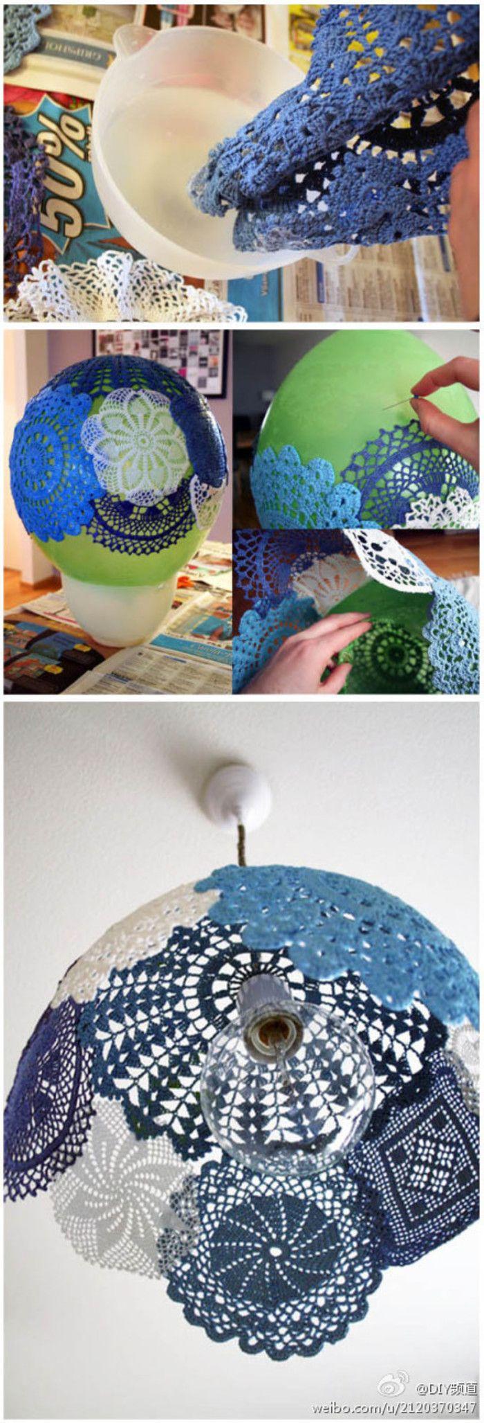 DIY Doily Decoration Ideas