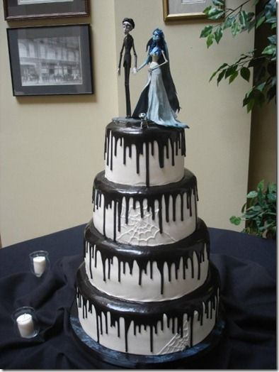 Corpse bride cake <----Not my thing at all, but I think it's neat.