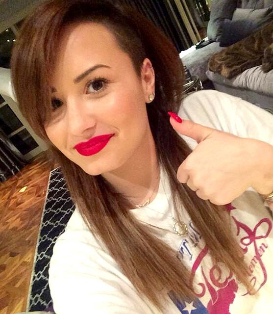 """Demi Lovato on Going Back to Brown Hair Color: """"Gonna Give My Hair a Break"""""""