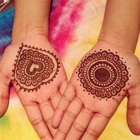 Best Mehandi Designs For Kids