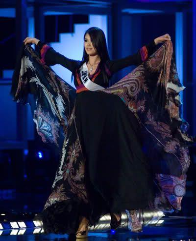 Miss Japan Riyo Mori - Miss Universe 2007
