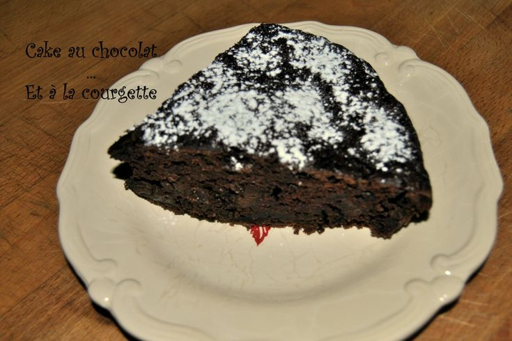 Cake au chocolat... et à la courgette