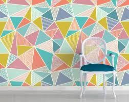 bildergebnis f r wand geometrisches muster farben w nde pinterest geometrische muster. Black Bedroom Furniture Sets. Home Design Ideas