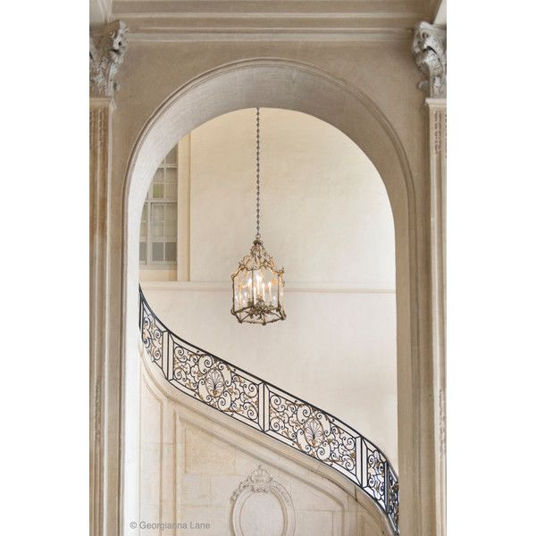 Paris Photography Musee Rodin Staircase, Neutral Decor, French Home... (€27) ❤ liked on Polyvore featuring home, home decor, wall art, photo wall art, paris wall art, photography wall art, rodin and neutral home decor