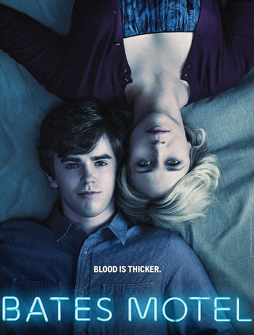 Bates Motel. Prequel tv show to the Alfred Hitchcock movie Pyscho but set in present day. It's AMAZING.