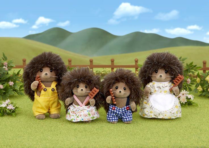 Τα αγαπημένα μου θέλουν να... Ρ ο κ ά ρ ο υ ν. Sylvanian Families GR ♥ Hedgehog Family ♥