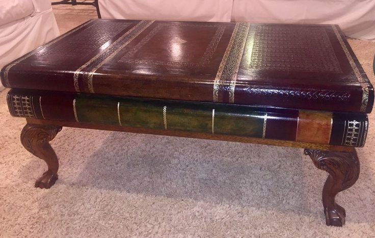Maitland Smith Faux Antique Book Coffee Table