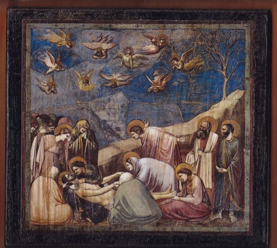 Giotto Lamentation The Mourning of Christ  Scrovegni by teogonia