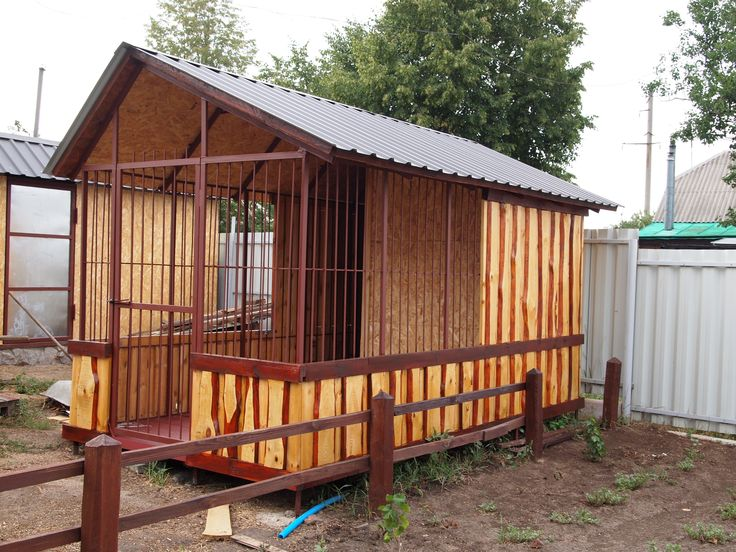 I built a house for my dog. Hooray!