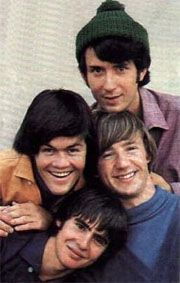 Hey, Hey, We're The Monkees! Michael Nesmith, Davy Jones, Micky Dolenz and Peter Tork.