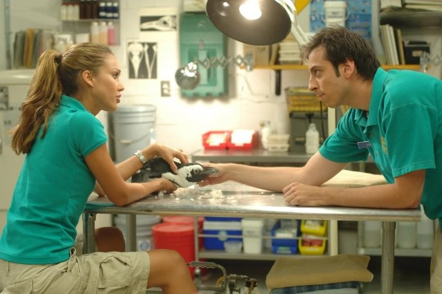 Still of Jessica Alba and Dane Cook in Good Luck Chuck