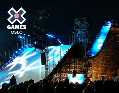 "Check out new work on my @Behance portfolio: ""X Games Oslo 2016 