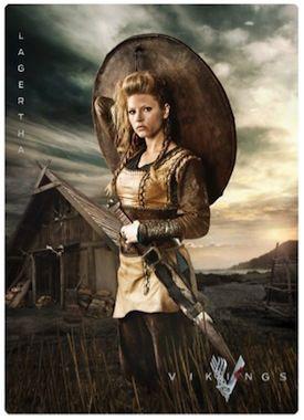 vikings season 2 | History CHannel Vikings Season 2 Dishing Out Comic-Con Cards