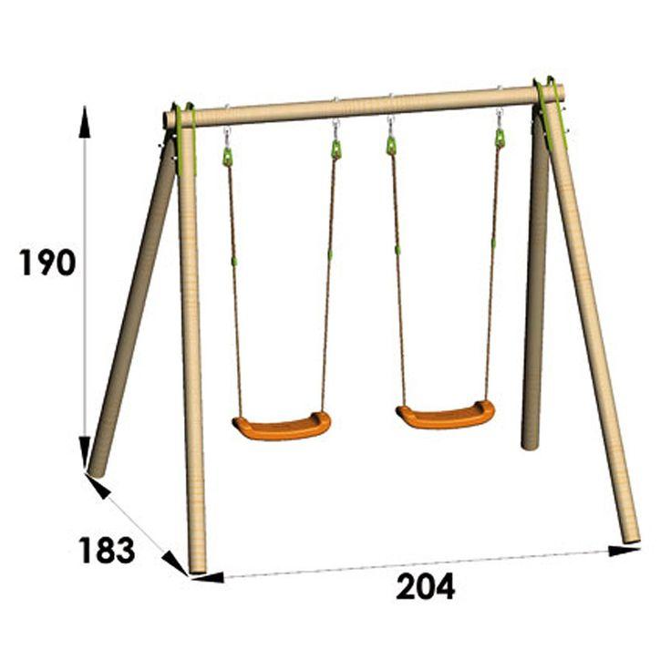 les 25 meilleures id es de la cat gorie portique balancoire sur pinterest. Black Bedroom Furniture Sets. Home Design Ideas
