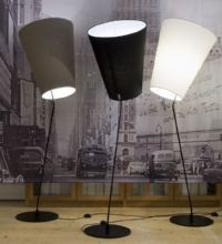 Lundia Soihtu Floor Lamps: Beautiful and minimalistic, but not too serious! They also have table lamps like this.