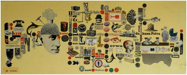 Topografia snów I, [collage 20 x 50 cm], 2011