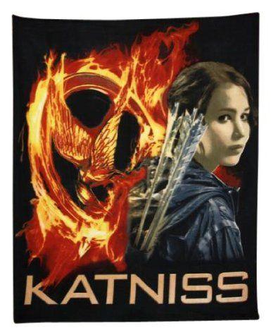 Amazon.com: The Hunger Games Movie polar Fleece Katniss: Toys & Games