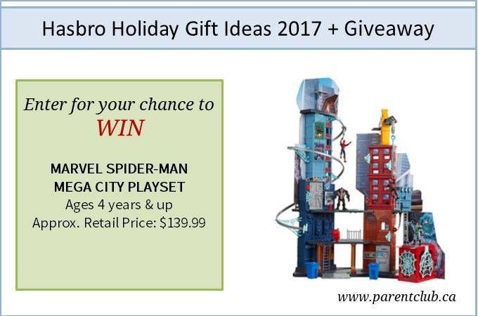 Hasbro Holiday Gift Ideas 2017   Giveaway