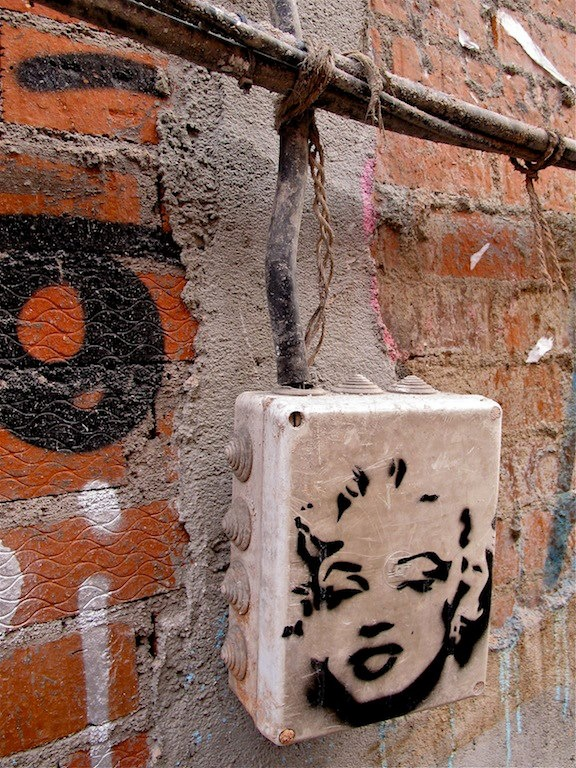 Marilyn en la calle San Bernardo
