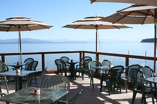 Shady Rest - Waterfront Dining | Beach Restaurant Qualicum | Waterfront Bar