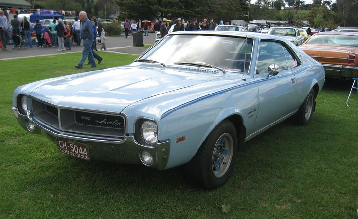 Rambler Javelin (an AMC Javelin assembled by AMI)