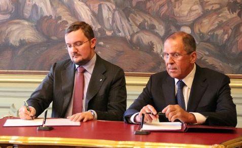 Алексей Репик и Сергей Лавров подписали Соглашение о сотрудничестве