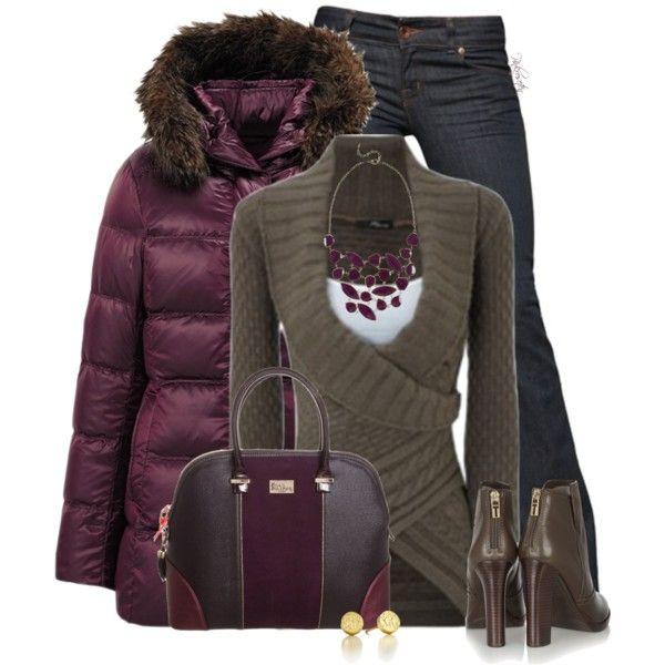 """UNIQLO Coats"" by pinkroseten on Polyvore"