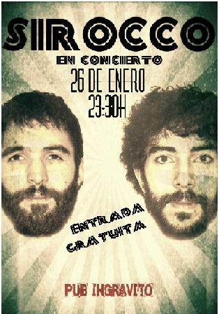 Sirocco @ Ingravito - Ourense musica concierto concerto