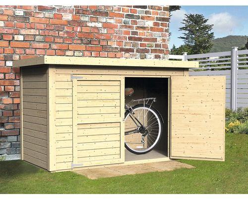 Fahrradgarage Wandschrank Velo Mit Fussboden 206x102 Cm Natur Bei Hornbach Kaufen Moderner Pavillon Fahrradgarage Fahrrad Unterstand