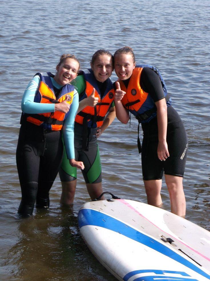 Zajęcia windsurfingowe - Dźwirzyno #windsurfing #wakacje #morze