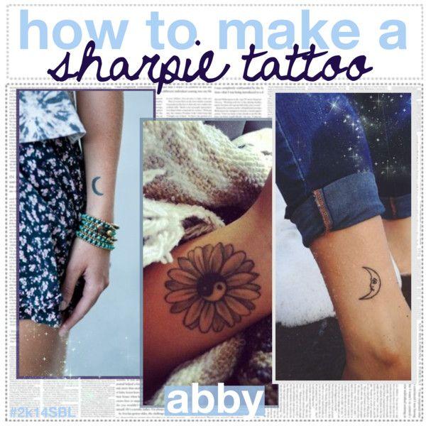 How To Make a Sharpie Tattoo