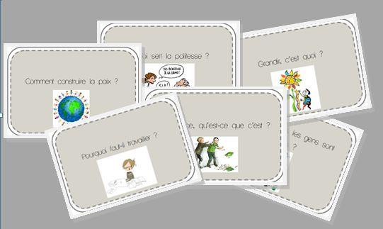 débats philo ! cartes questions et organisation tout cycle
