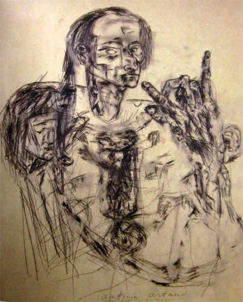 Antonin Artaud. Autoportrait 1948