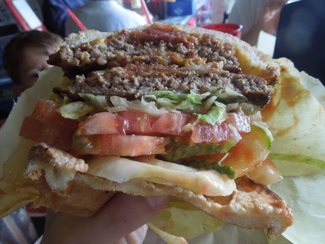 Hodadie's Bacon Cheeseburger {Guy Fieri's Guido Burger copycat} : missinformationblog #recipe